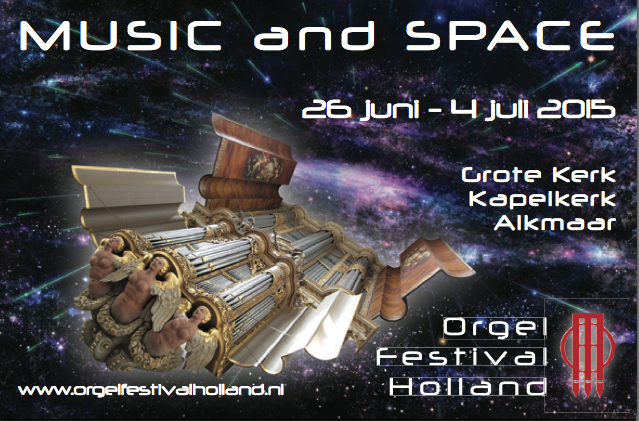 Flyer Orgelfestival Holland 2015