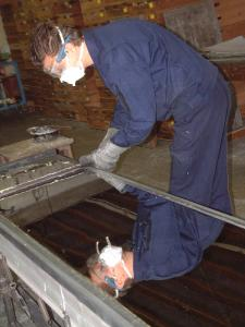 Casting of organ metal
