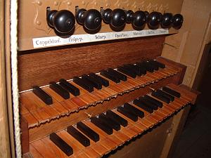 Keyboard of the Van Covelensorgel, Alkmaar