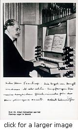 Albert Schweitzer plays Flentrop
